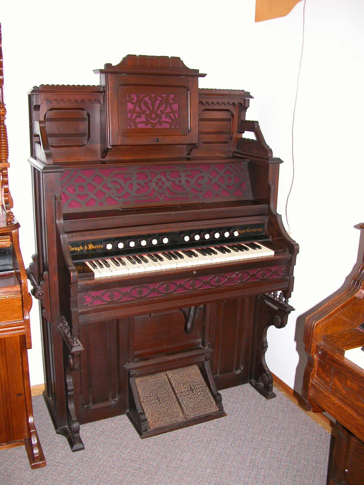 Vintage Pump Organ 93