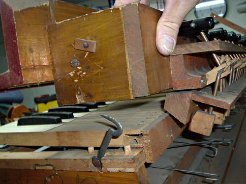 Removing the Stop Action on an Antique Pump Organ