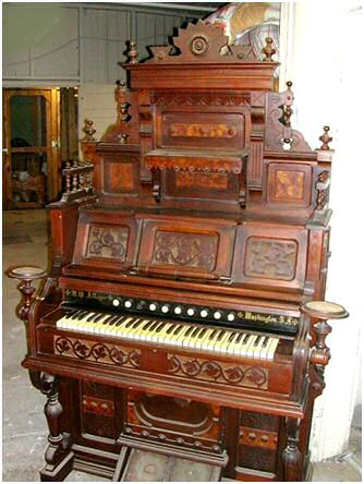 Parlor Organ (top or no top)