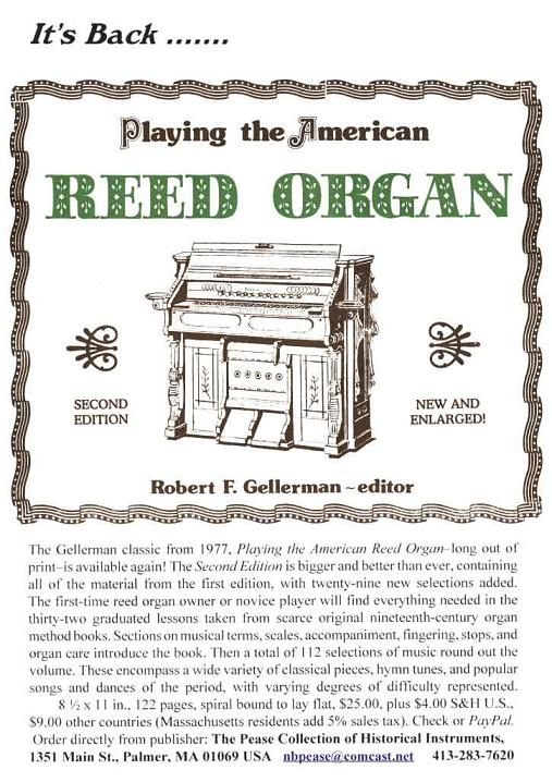 Playing the American Reed Organ
