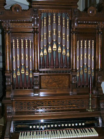 A Stunning Restored Pump Organ from a South Carolina Church